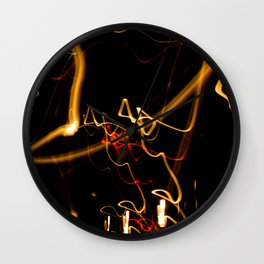The abuse of light Wall Clock