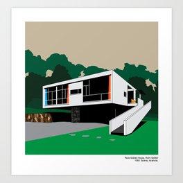 Rose Seidler House Seidler Modern Architecture Art Print