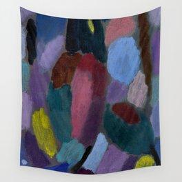 """Alexej von Jawlensky """"Variation - Field of Tulips"""" 1916 Wall Tapestry"""