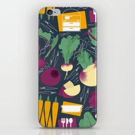 Root Vegetables iPhone Skin