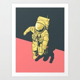 X-Over Art Print