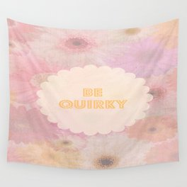 Be Quirky Wall Tapestry