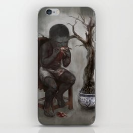 Greed iPhone Skin