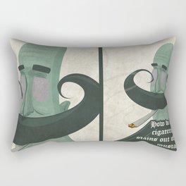 Tar mustache Rectangular Pillow