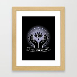 Know your Power Framed Art Print