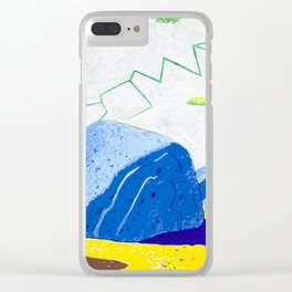 Dry Lightning in the Rocky Valley Clear iPhone Case