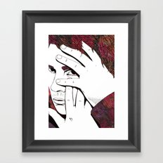 River Phoenix Framed Art Print