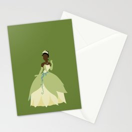 Tiana from Princess and the Frog Stationery Cards