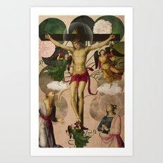 Saints Collection -- re-birth Art Print