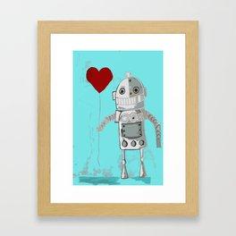 Robot Baby Framed Art Print