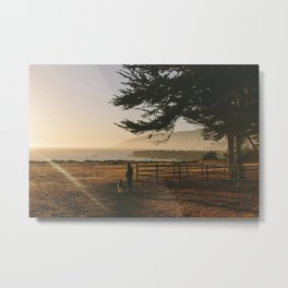 Big Sur Sunset I Metal Print