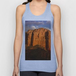 COURTHOUSE ROCK - SEDONA ARIZONA Unisex Tank Top