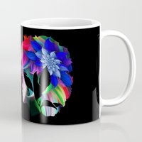 afro Mugs featuring Afro by SmartyArt Chick