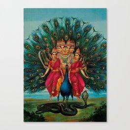 Hindu Art Canvas Print