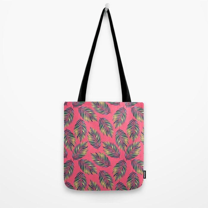 Tropical leaves Tote Bag
