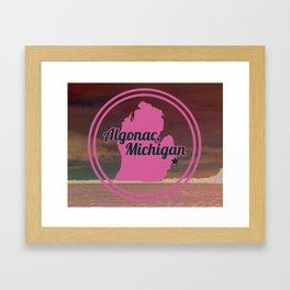 Algonac Framed Art Print