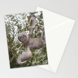 Sloth, A Real Tree Hugger Stationery Cards