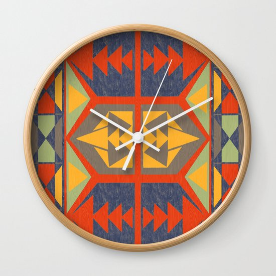 Going Native Wall Clock
