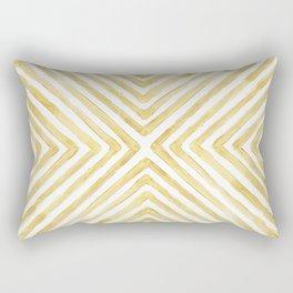 Gilded Bars Rectangular Pillow