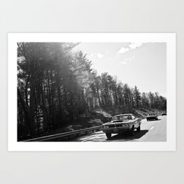 Classics Through the Smokies Art Print