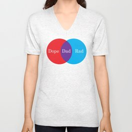 Dope Rad Dad Unisex V-Neck