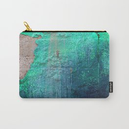 Green Entropy I Carry-All Pouch