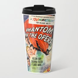 vintage horror movie poster Travel Mug