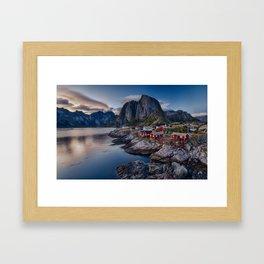 Iconic view of Lofoten Framed Art Print