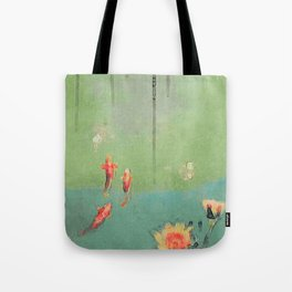 Koi Dreams Tote Bag