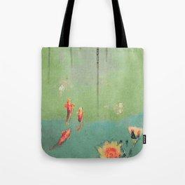 Koi Dreams Tote Bag