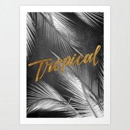 Tropical Nights Art Print