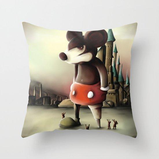 Mickey's Kingdom Throw Pillow