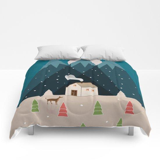 Winterworm Comforters