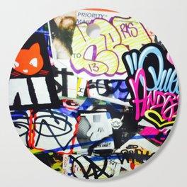 grafiti v.5 Cutting Board