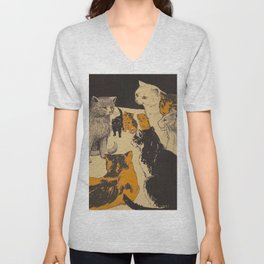 Pussy-cat town - Marion Ames Taggart and Rebecca Chase - 1906 Unisex V-Neck