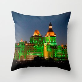 Wizard Castle Throw Pillow