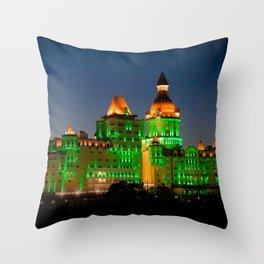 Wizard Castle Throw Pillow