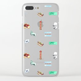 Sweet Home Chicago Clear iPhone Case