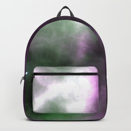 Purple Nebula Space Galaxy Backpack