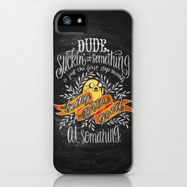 The Wisdom of Jake iPhone Case