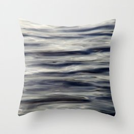 Calm Waters Throw Pillow