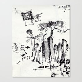 EXIT SERIES 2 Canvas Print