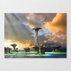 Eagle Waterfalls Canvas Print