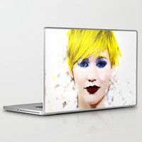 law Laptop & iPad Skins featuring J Law by André Joseph Martin
