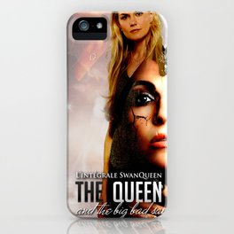The Queen and the Bid Bad Saviour iPhone Case