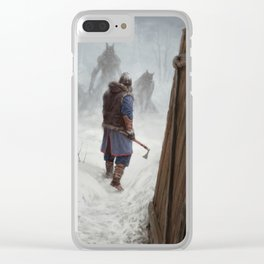 Knock, Knock. Clear iPhone Case