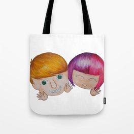 Tintin and BB Tote Bag