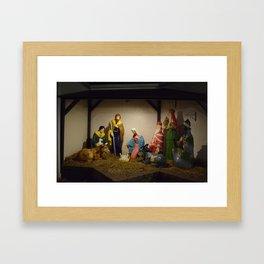 Nativity Scene Framed Art Print