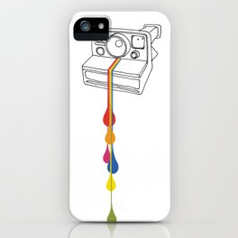 Polaroid Drips iPhone Case