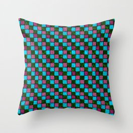 Bodacious Island Paradise and Lush Meadow Patchwork Throw Pillow